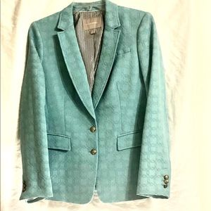 Blazer-polyester/cotton blend lined